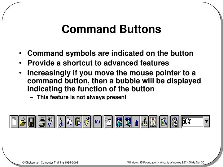 Command Buttons