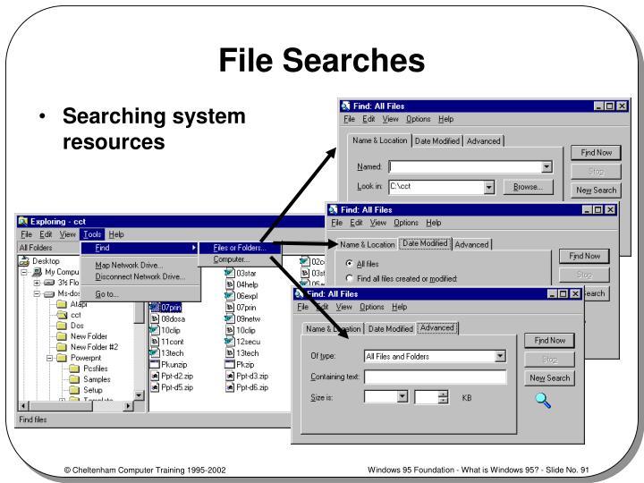 File Searches