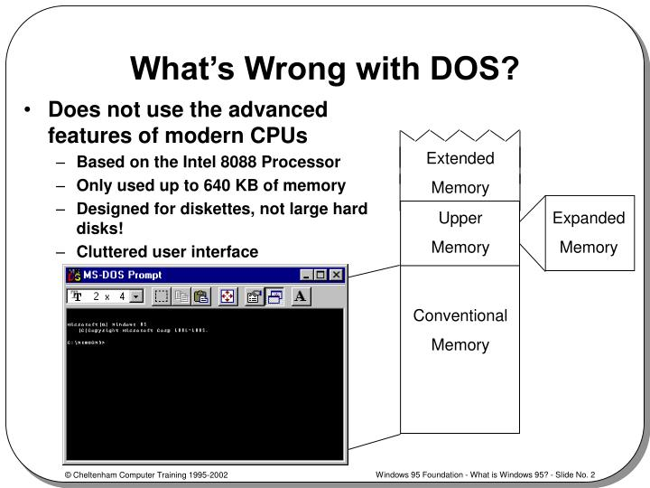 What s wrong with dos