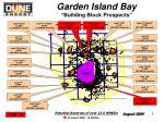 garden island bay building block prospects