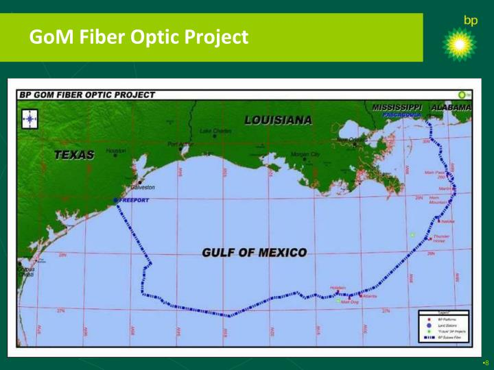 GoM Fiber Optic Project