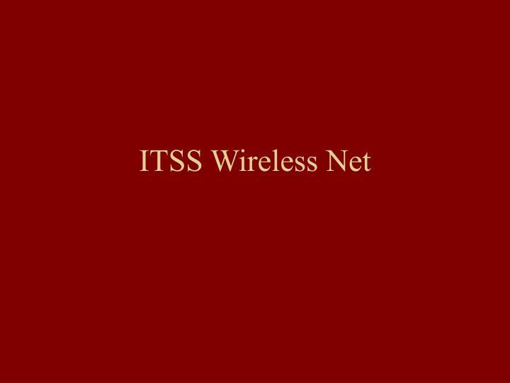 ITSS Wireless Net