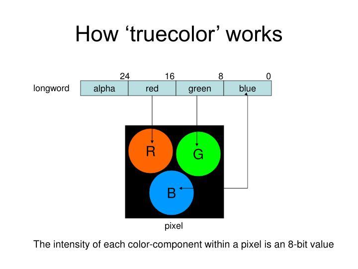 How 'truecolor' works