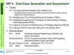 wp 5 test case generation and assessment