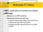 multimedia pc history