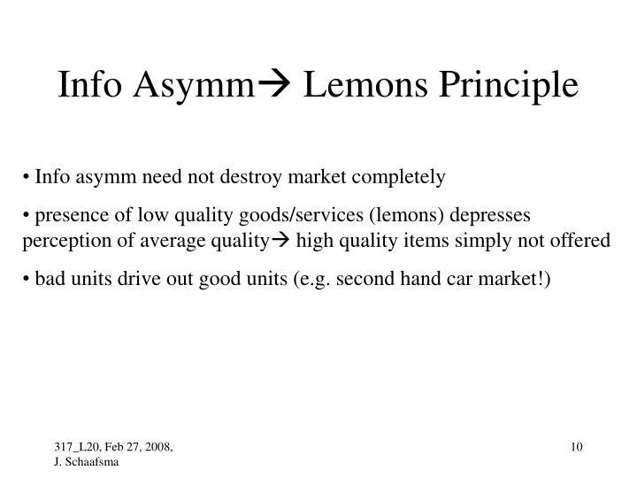 Info Asymm