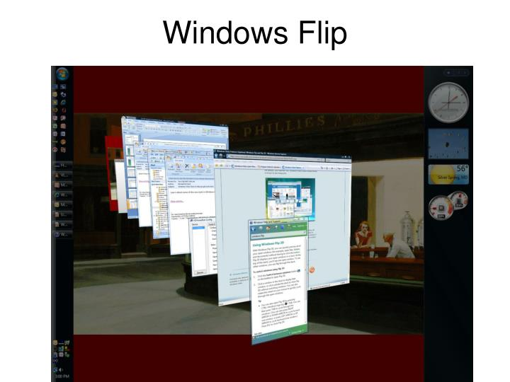 Windows Flip