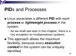 pid s and processes
