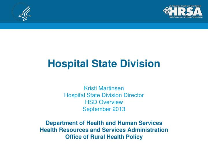 hospital state division n.