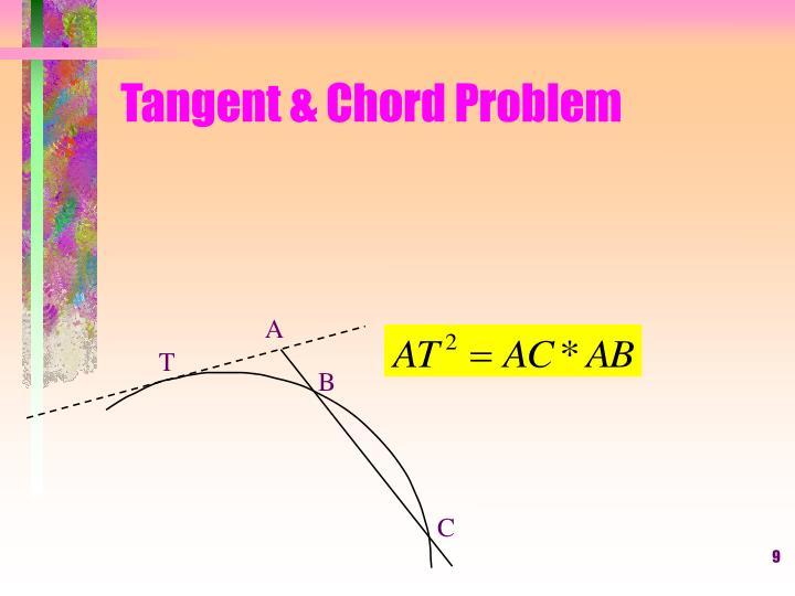 Tangent & Chord Problem