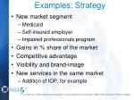 examples strategy