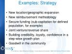 examples strategy1