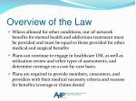 overview of the law1