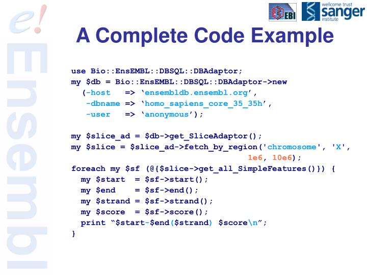A Complete Code Example