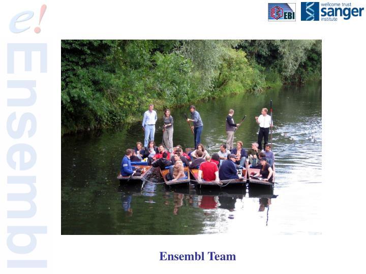 Ensembl Team