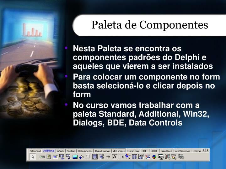 Paleta de Componentes