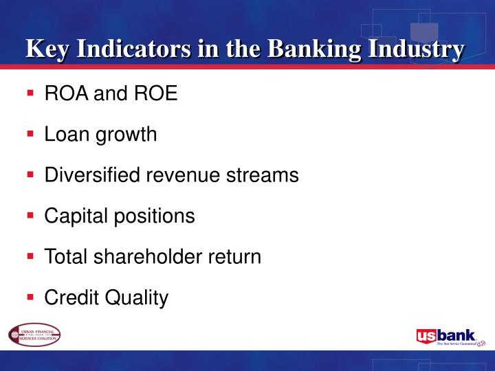 Key Indicators in the Banking Industry