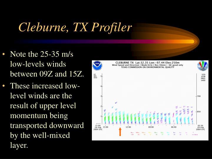 Cleburne, TX Profiler