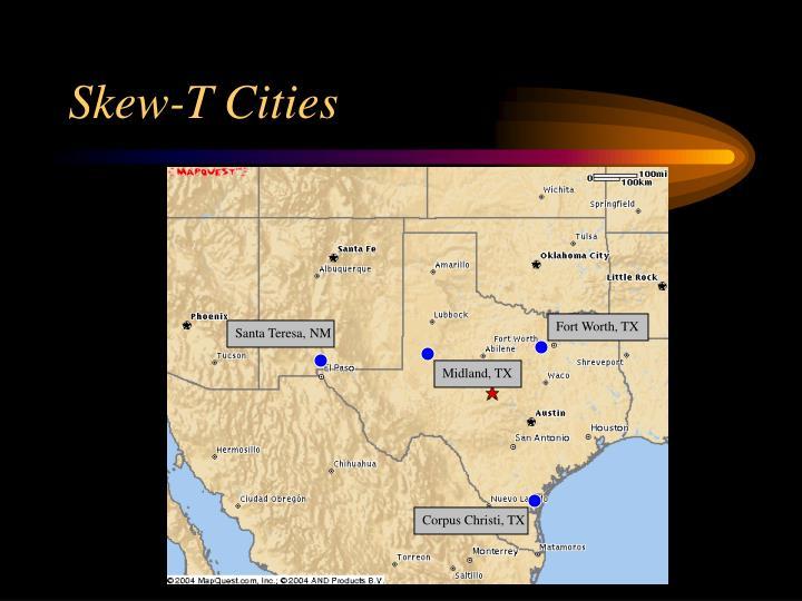 Skew-T Cities