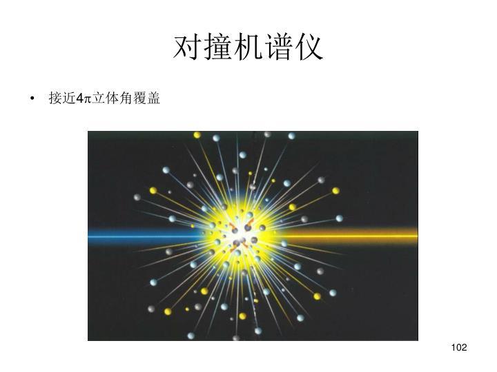 对撞机谱仪
