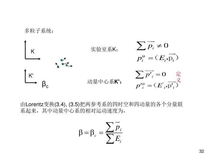 多粒子系统: