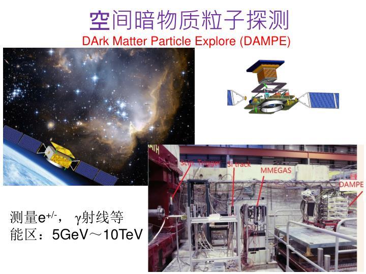 空间暗物质粒子探测
