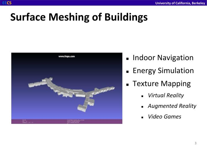 Surface meshing of buildings1