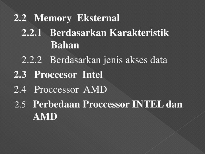 2.2   Memory