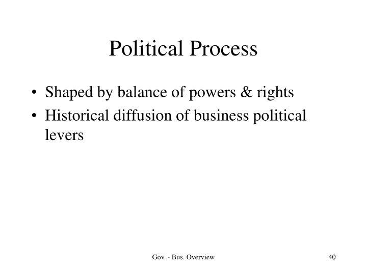 Political Process