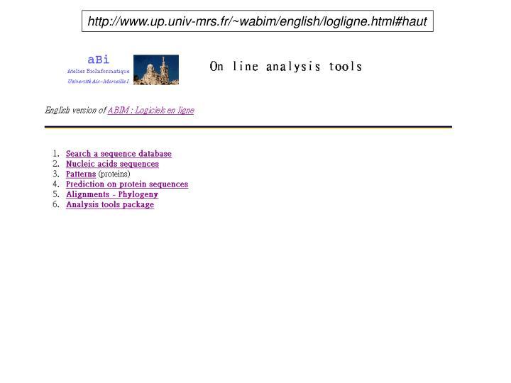 http://www.up.univ-mrs.fr/~wabim/english/logligne.html#haut