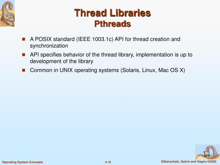 Thread Libraries