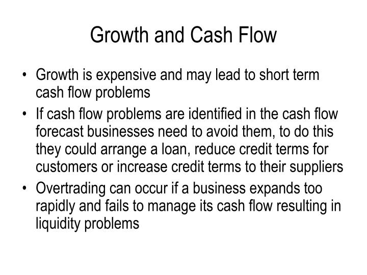 Growth and Cash Flow