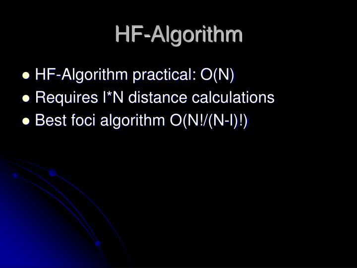 HF-Algorithm