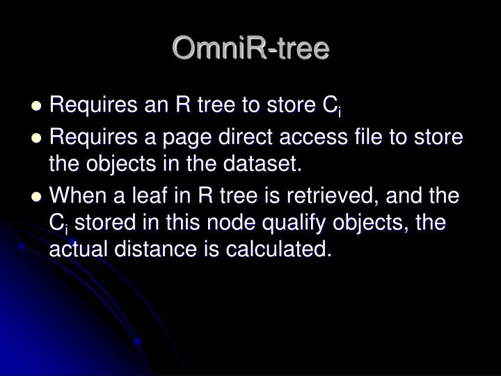 OmniR-tree