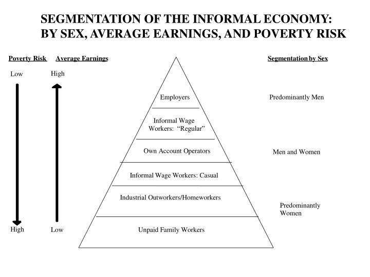 SEGMENTATION OF THE INFORMAL ECONOMY: