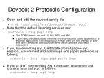 dovecot 2 protocols configuration