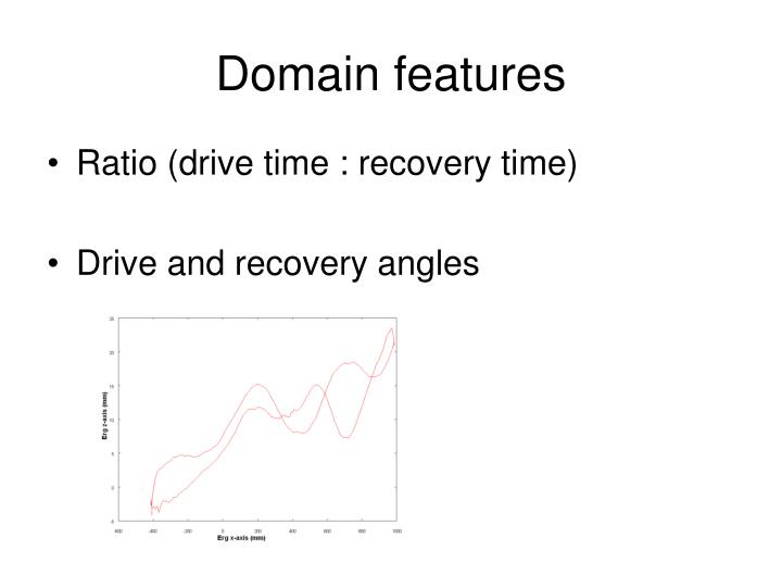 Domain features