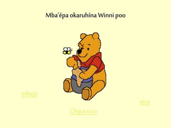Mba'épa okaruhína Winni poo