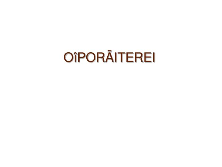OîPOR