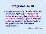 programa de ih1