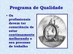 programa de qualidade2