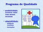 programa de qualidade5