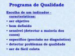programa de qualidade6