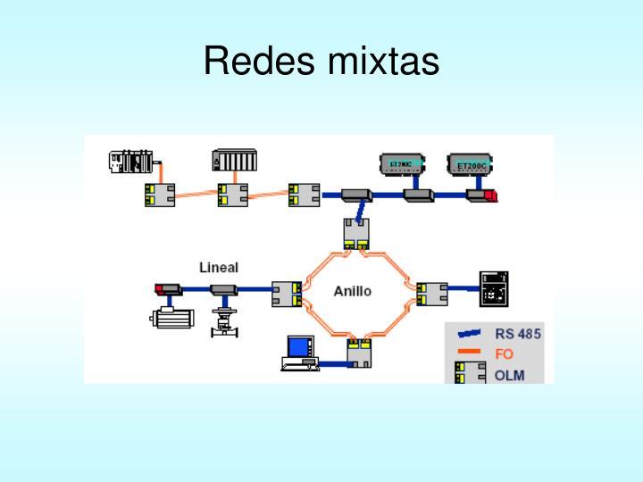 Redes mixtas