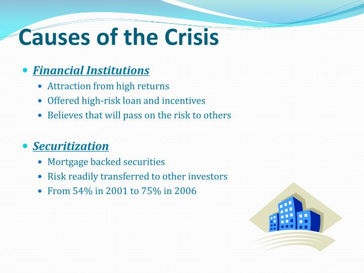 Causes of the Crisis