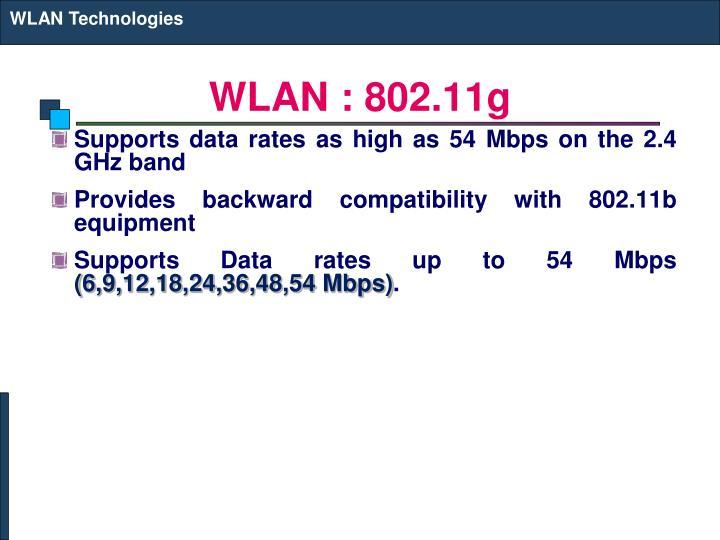 WLAN Technologies
