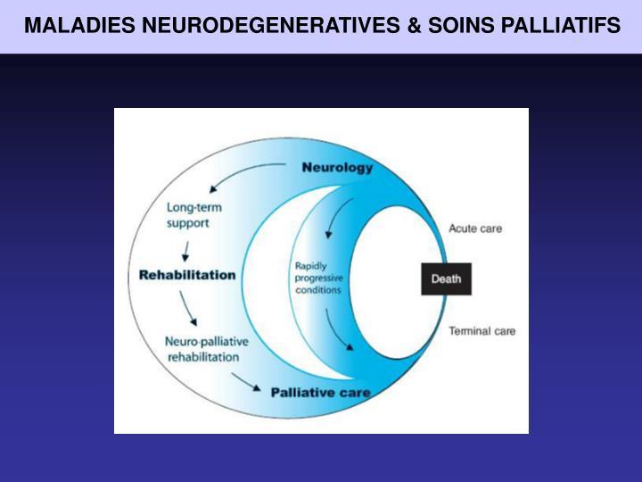 MALADIES NEURODEGENERATIVES & SOINS PALLIATIFS