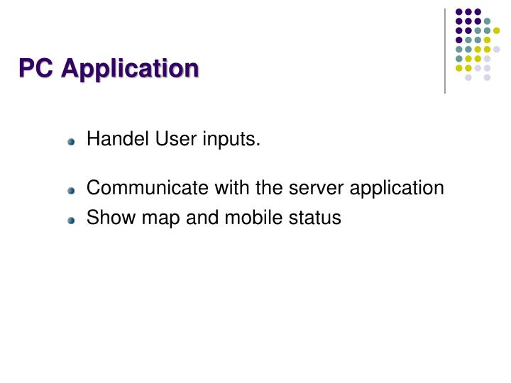 PC Application