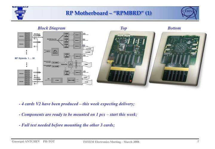"""RP Motherboard – """"RPMBRD"""" (1)"""