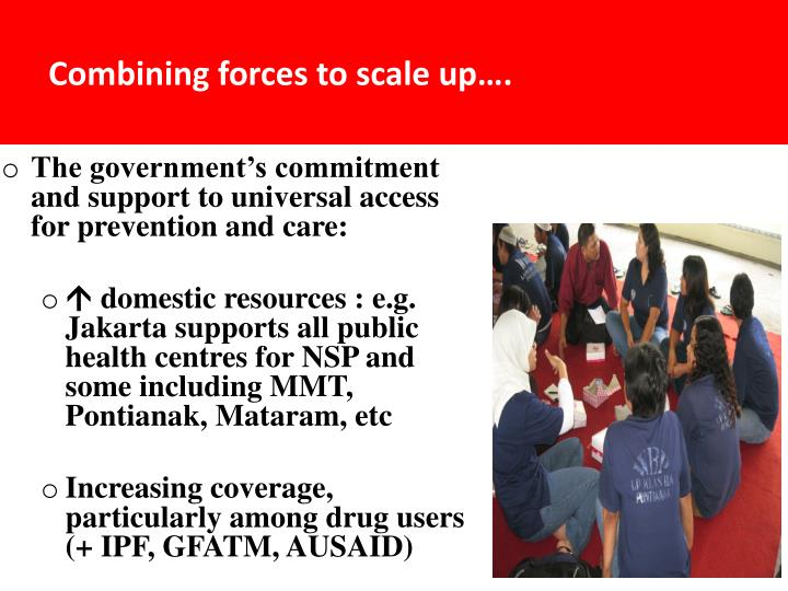 Combining forces to scale up….